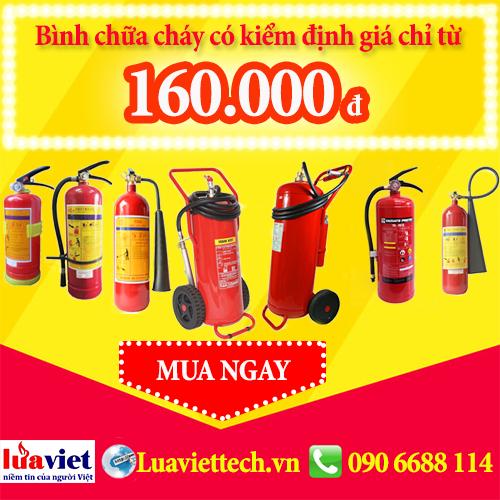 bình cứu hỏa giá rẻ 160000 Luaviettech.vn