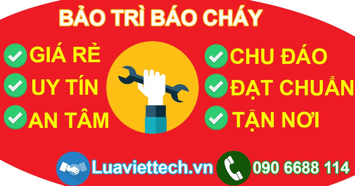 Sửa chữa bảo trì báo cháy, hệ thống báo cháy phòng cháy chữa cháy PCCC giá rẻ Bà Rịa Vũng Tàu