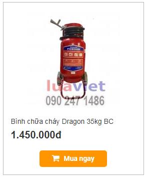 Bình chữa cháy Dragon 35kg BC