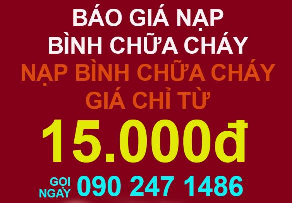 nap sac binh chua chay tai tphcm chi 15000
