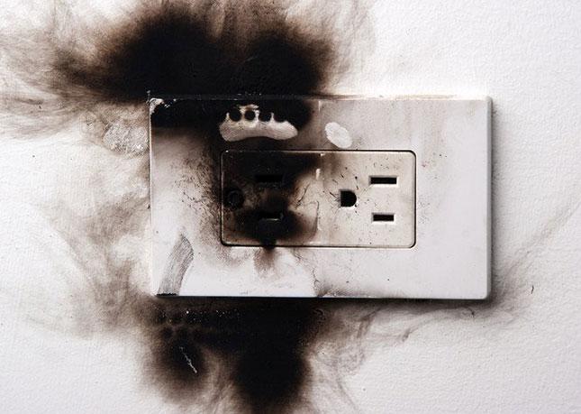 cháy ổ điện