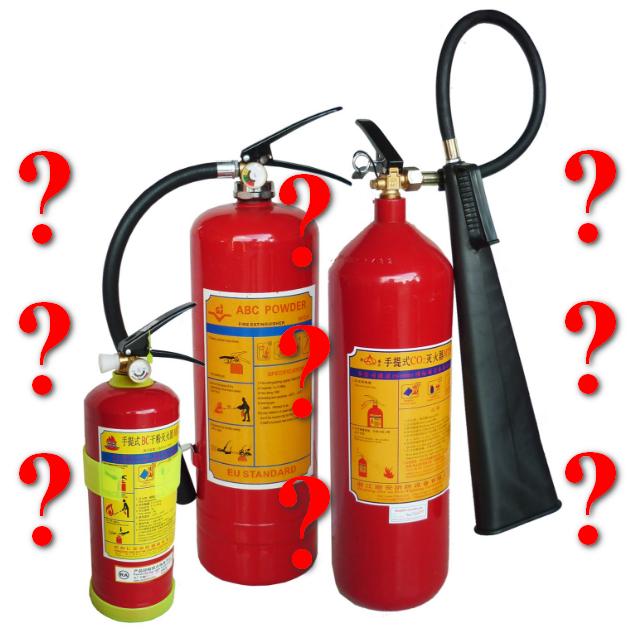 chọn bình chữa cháy bột hay khí co2