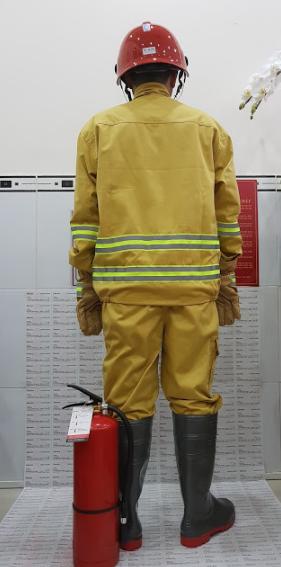 chữa cháy trang phục theo thông tư 48