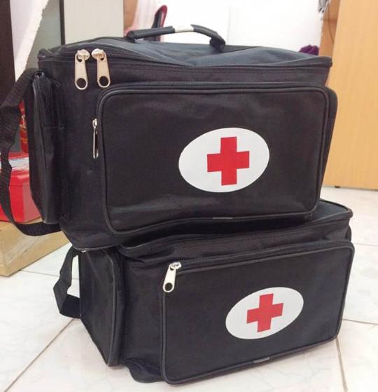 Túi cấp cứu, túi cứu thương, túi y tế theo thông tư 19, đủ loại A B C