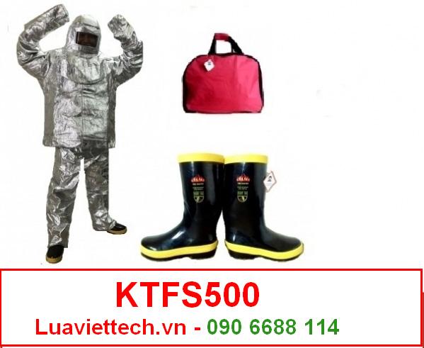 bộ quần áo chống cháy chịu nhiệt 500m độ c