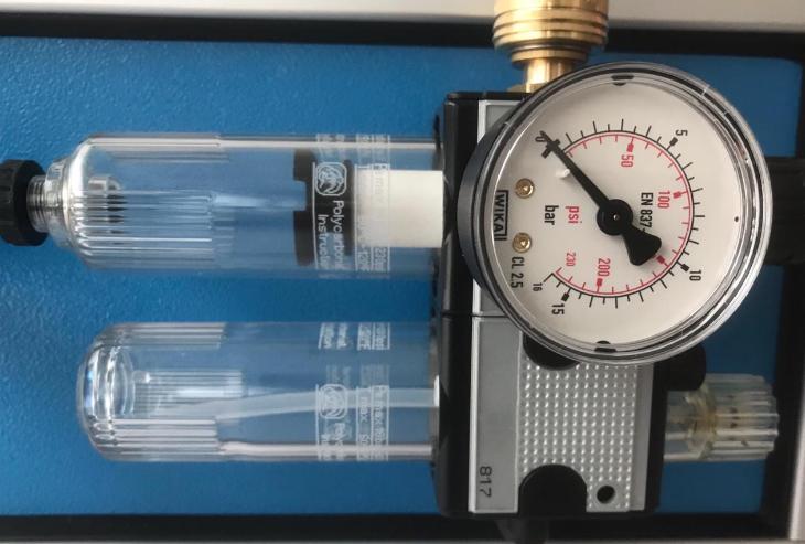 Máy nạp khí CO2 cơ động KUD1