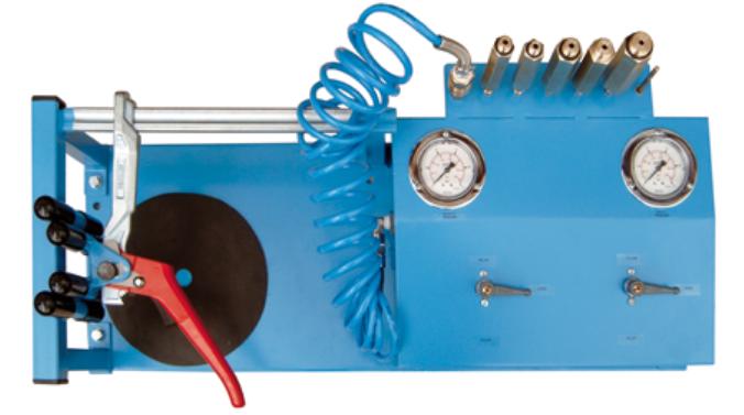 Máy nạp khí nitơ cho bình chữa cháy bột