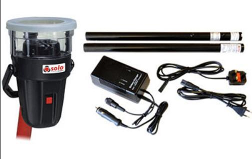 Thiết bị thử đầu báo nhiệt SOLO-461-001 với pin và bộ sạc