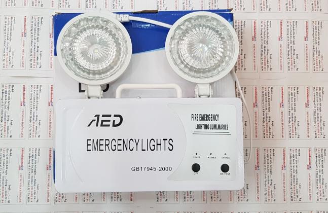 Đèn chiếu sáng sự cố khẩn cấp AED