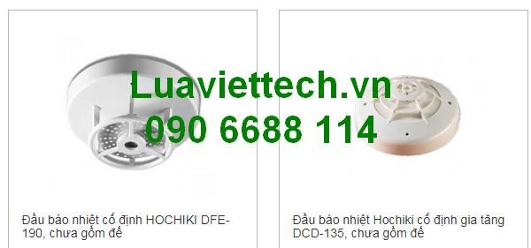 báo cháy hochiki giá rẻ tại Luaviettech