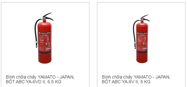 bình chữa cháy yamato giá rẻ