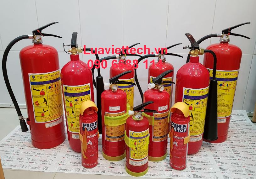 bình chữa cháy giá rẻ đa dạng
