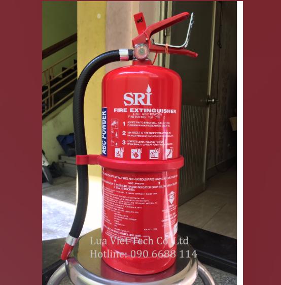 bình chữa cháy SRI 3kg bột ABC