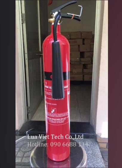 Bình chữa cháy Sri Malaysia khí CO2 3kg, FEX-139-CS-030-RD chính hãng giá rẻ tại tphcm