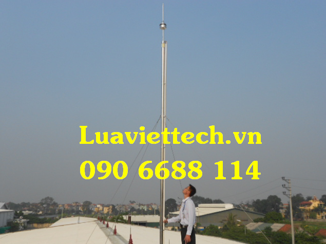 kim thu sét cột thu lôi giá rẻ tại Luaviettech.vn