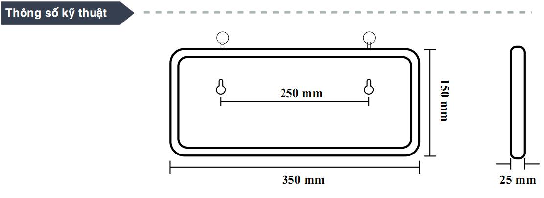 cấu tạo đèn exit dạ quang