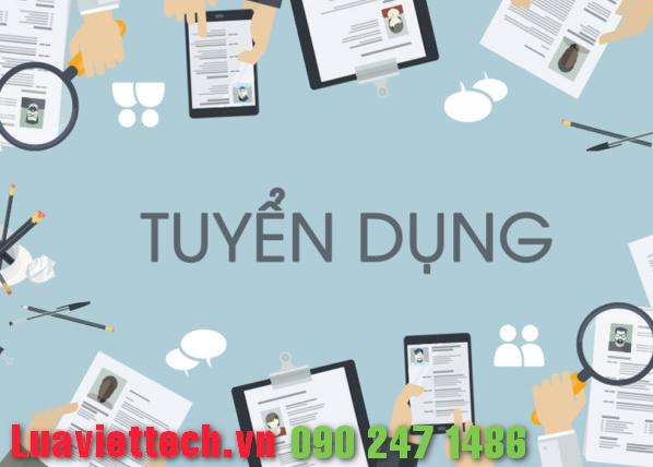 luaviettech.vn tuyển dụng nhân viên kinh doanh