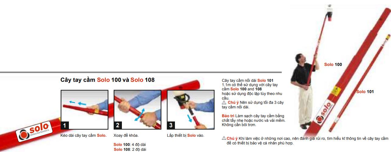 Hướng dẫn sử dụng tay cầm SOLO