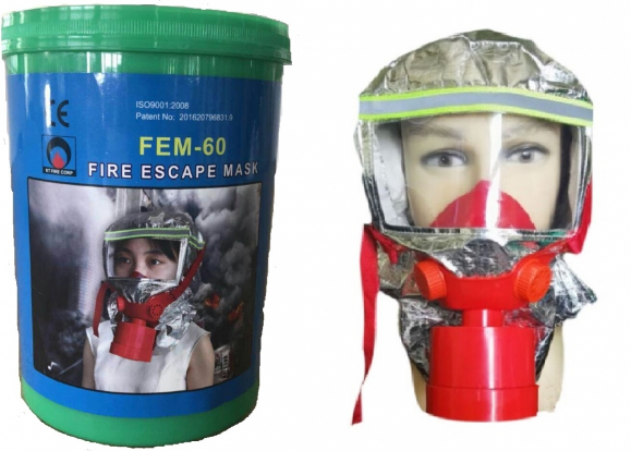 Mặt nạ chống khói FEM-60 Hàn Quốc