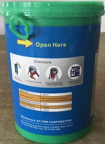 Mặt nạ chống khói FEM-60 Hàn Quốc giá rẻ
