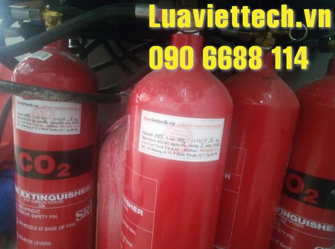 bơm nạp bình chữa cháy từ Luaviettech.vn
