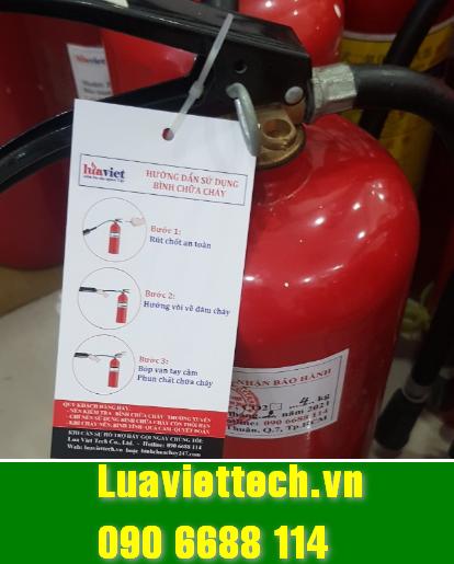 bình chữa cháy đạt chuẩn tại Luaviettech.vn