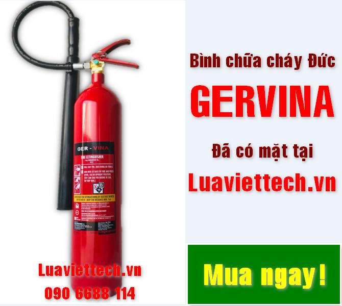 bình chữa cháy đức gervina