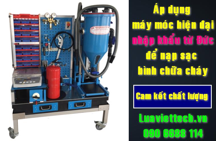 nạp sạc bình chữa cháy đảm bảo chất lượng