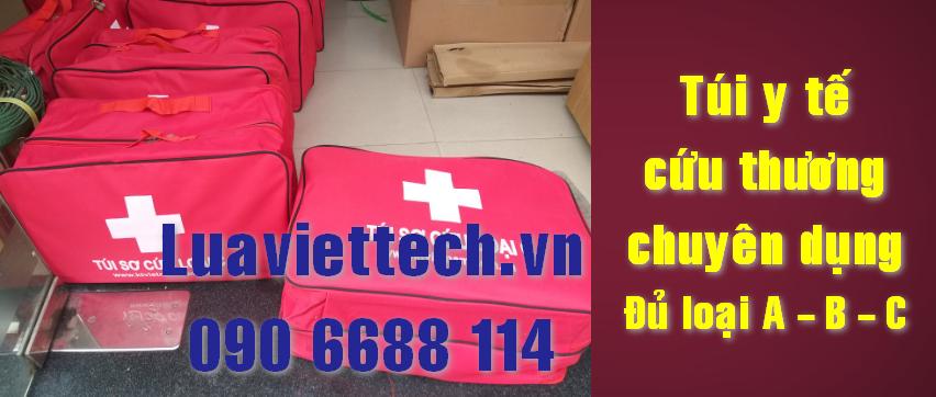 Túi sơ cấp cứu, túi cứu thương chuyên dụng, túi y tế loại A B C
