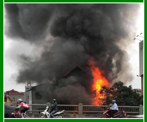 cháy nổ do con người mà ra