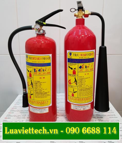 Nạp sạc, bơm và thay mới chất chữa cháy cho bình chữa cháy ABC BC CO2 giá rẻ giá sỉ