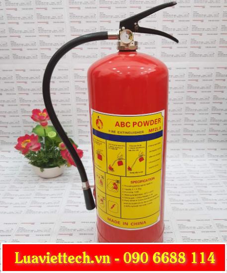 Bình chữa cháy, bình cứu hỏa có kiểm định chất lượng cho cửa hàng, nhà xưởng, nhà máy, khu công nghiệp,