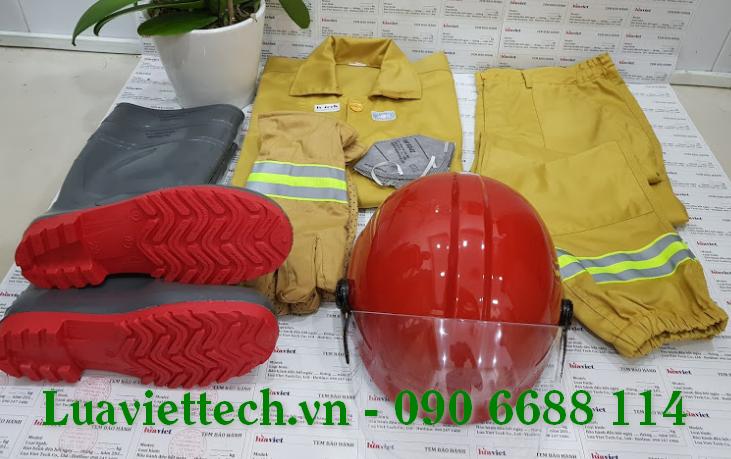 Bộ trang phục phòng cháy chữa cháy theo thông tư 48