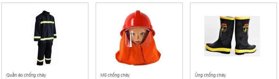 trang phục chống cháy