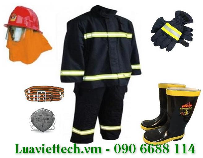 Bộ trang phục chịu nhiệt phòng cháy chữa cháy theo thông tư 56/2014/TT-BCA