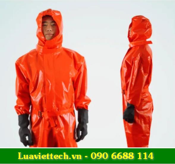 Quần áo liền ủng chống hóa chất, chống phóng xạ trọng lượng 4kg giá rẻ