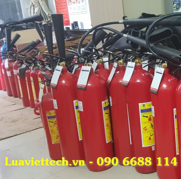 bảo dưỡng nạp sạc bình cứu hỏa q6 tphcm