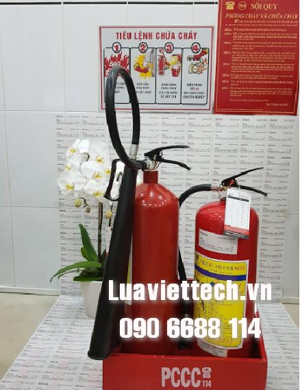 bình cứu hỏa cho cửa hàng