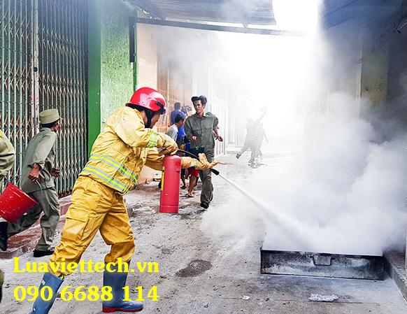 quần áo chữa cháy thông tư 48