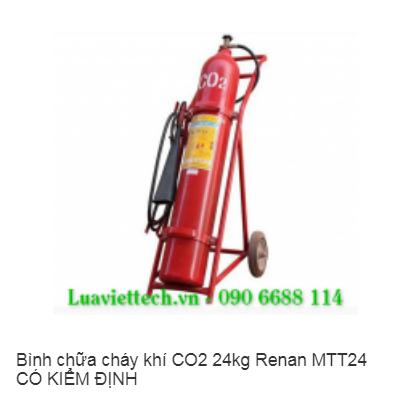 Bình chữa cháy khí CO2 24kg Renan MTT24 CÓ KIỂM ĐỊNH