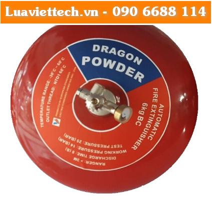 Bình cầu chữa cháy tự động hiệu DRAGON loại ABC 8kg - CÓ KIỂM ĐỊNH