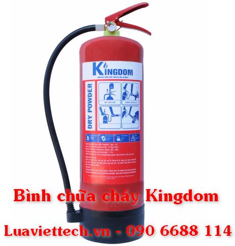 Bình cứu hỏa chính hãng Kingdom giá rẻ, có tem kiểm định tại tpHCM