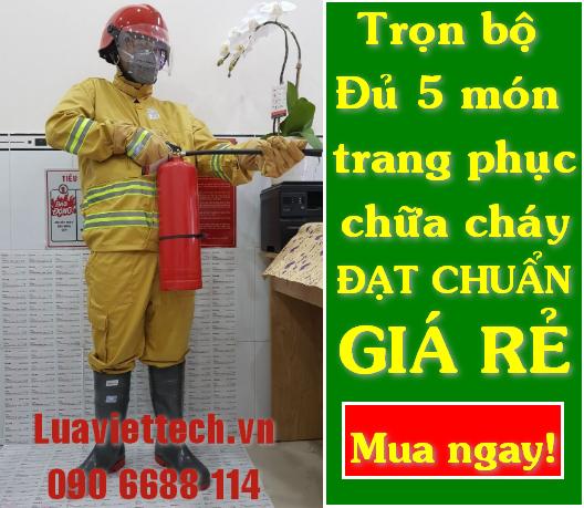 Chuyên cung cấp trọn bộ đủ 5 món trang phục quần áo chữa cháy thông tư 48 giá rẻ giá sỉ tại Cần Thơ