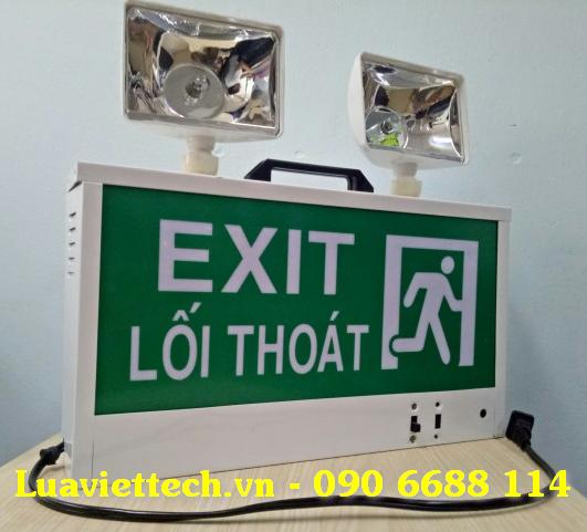 Đèn exit, đèn biển báo model EXIT 2E Đèn exit giá rẻ