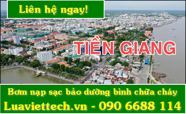 Bơm nạp sạc bảo dưỡng bình chữa cháy giá rẻ tại Tiền Giang