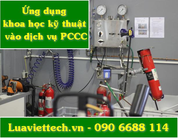 ứng dụng khoa học kỹ thuật hiện đại vào công tác pccc