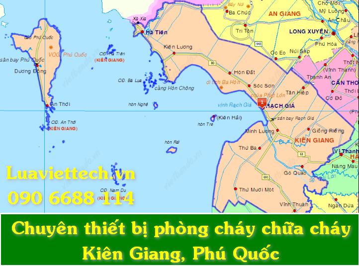 Chuyên bơm nạp sạc bảo dưỡng bình chữa cháy giá rẻ tại Kiên Giang và Phú Quốc