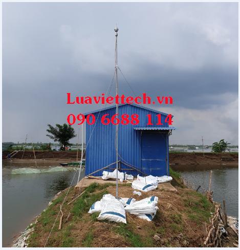 chống sét cho hồ nuôi cá