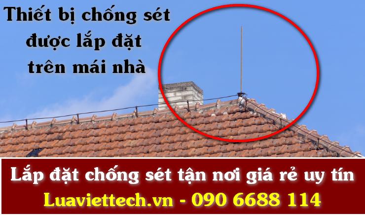 Lắp đặt thiết bị chống sét giá rẻ tại Bình Thuận giá rẻ