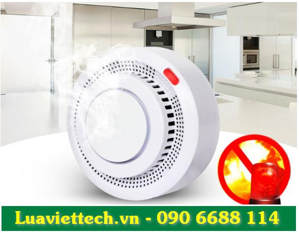 Thiết bị báo khói độc lập thông minh, có thể báo qua điện thoại LV-YG400A-WIFI